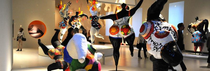 Expositions de niki Saint Phalle à Paris